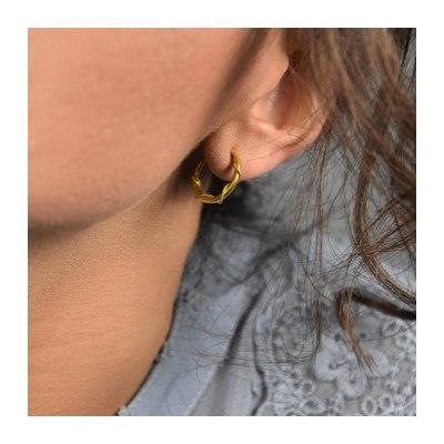 Tiny Hoops Earrings
